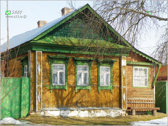 Частный дом  старый